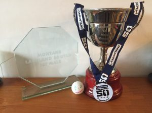 "Very honoured to have this trophy and will always remember ""Chase the Ball"""